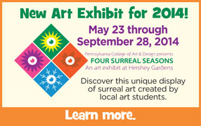 Four Surreal Seasons - Art Exhibit Ad image