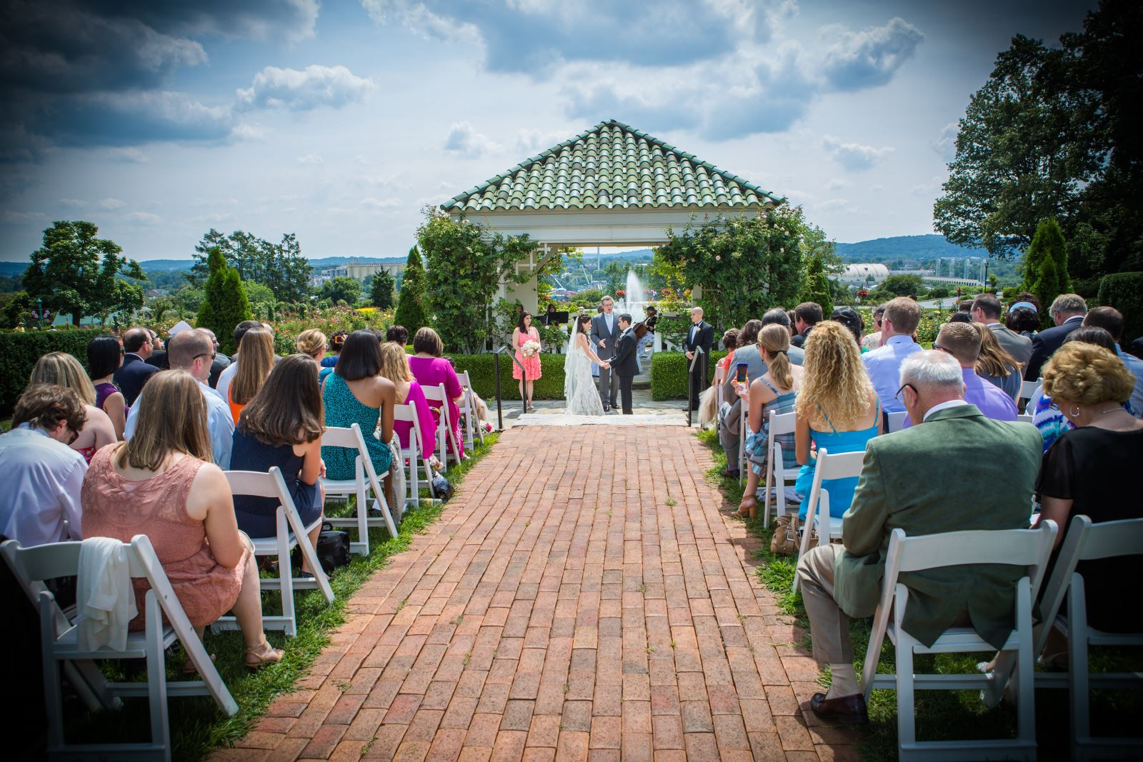 Wedding Ceremony Reception Hire: Weddings At The Hershey Gardens Conservatory