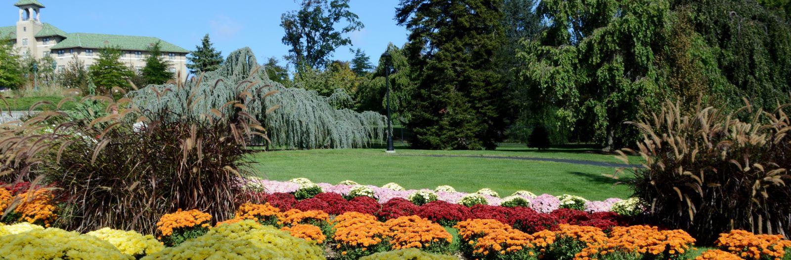 Flower Garden Conservatory Childrens Garden In Hershey Pa